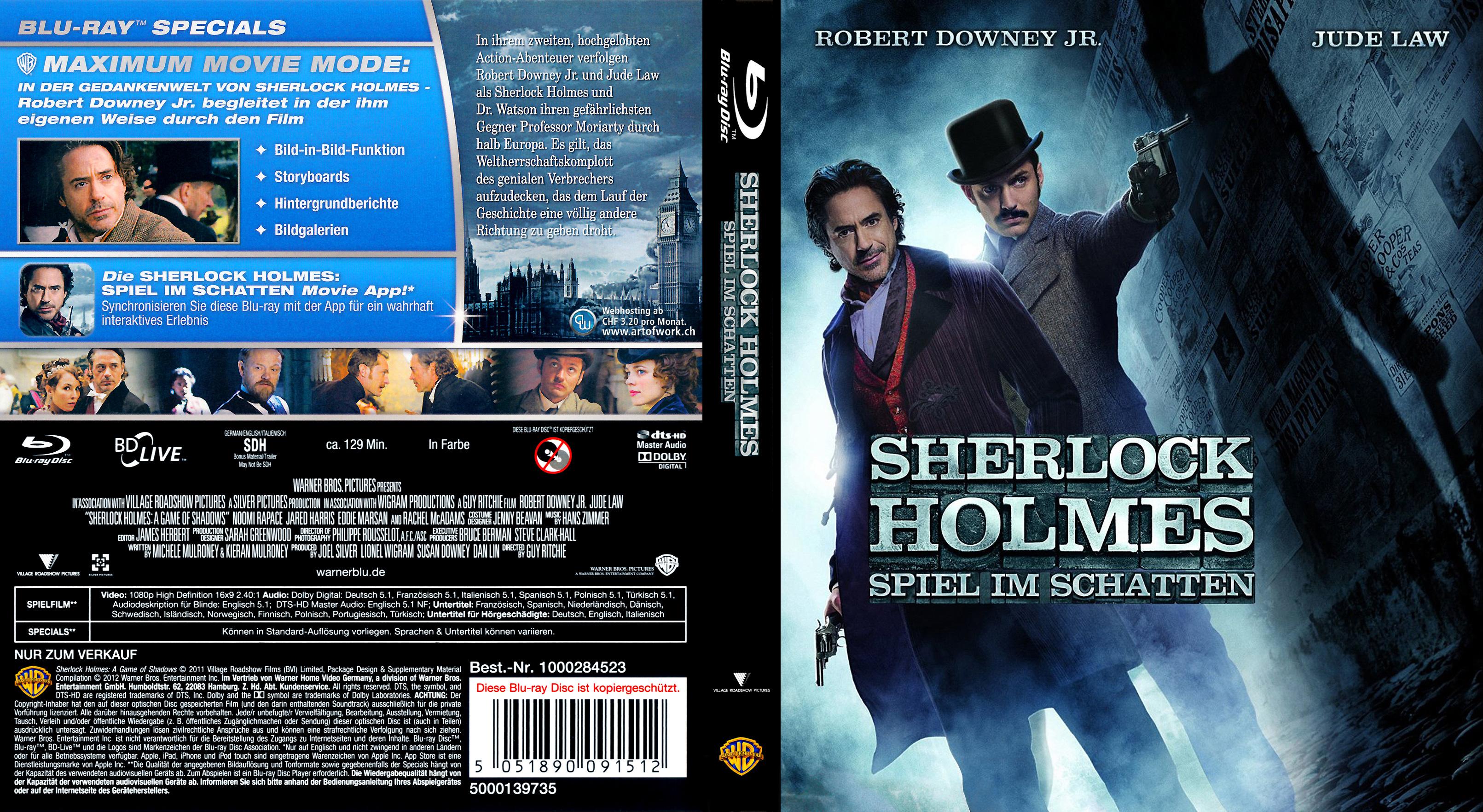 Sherlock Holmes Spiel Im Schatte Stream Deutsch