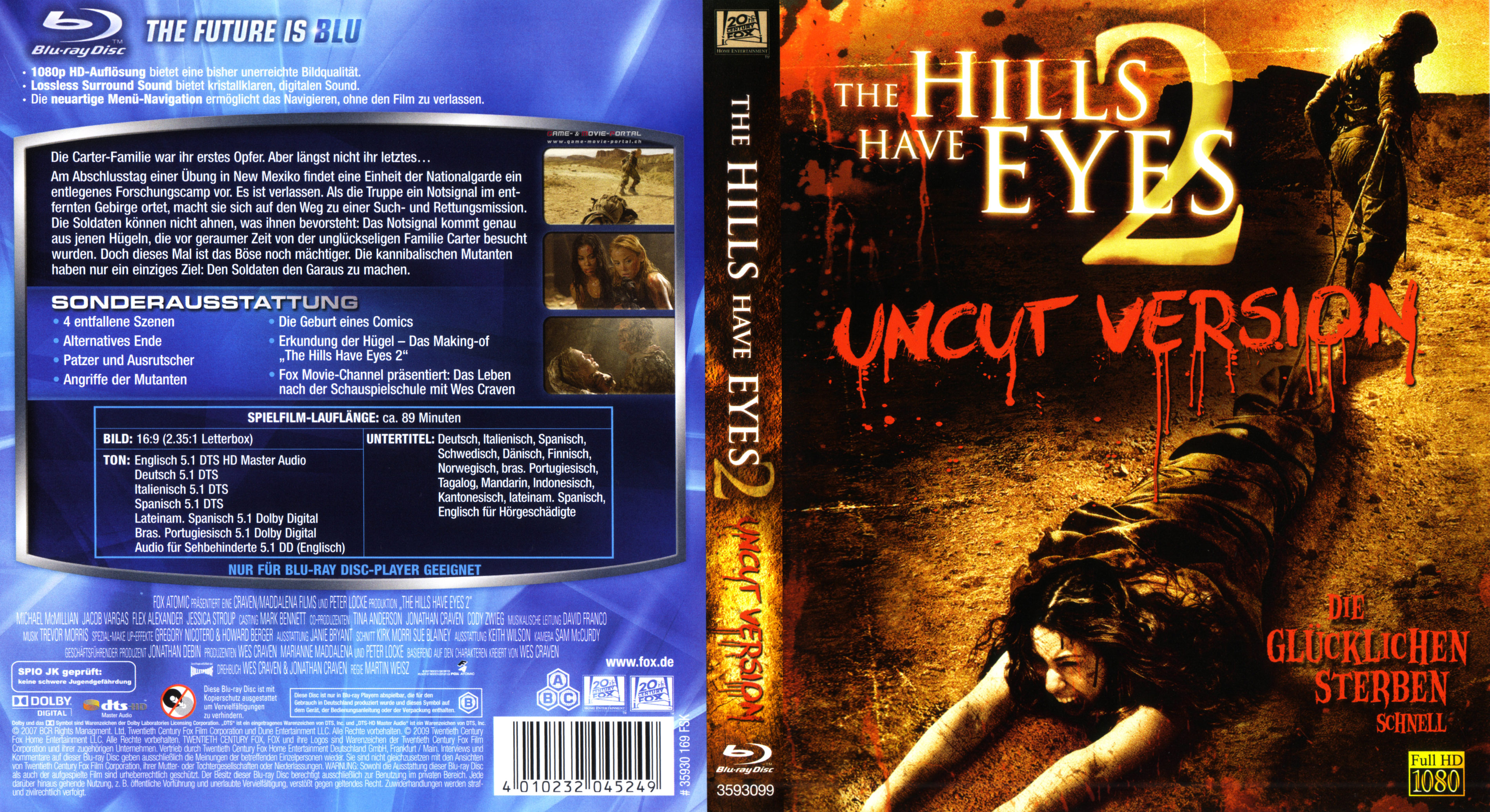 the hills have eyes unrated collection blu-ray