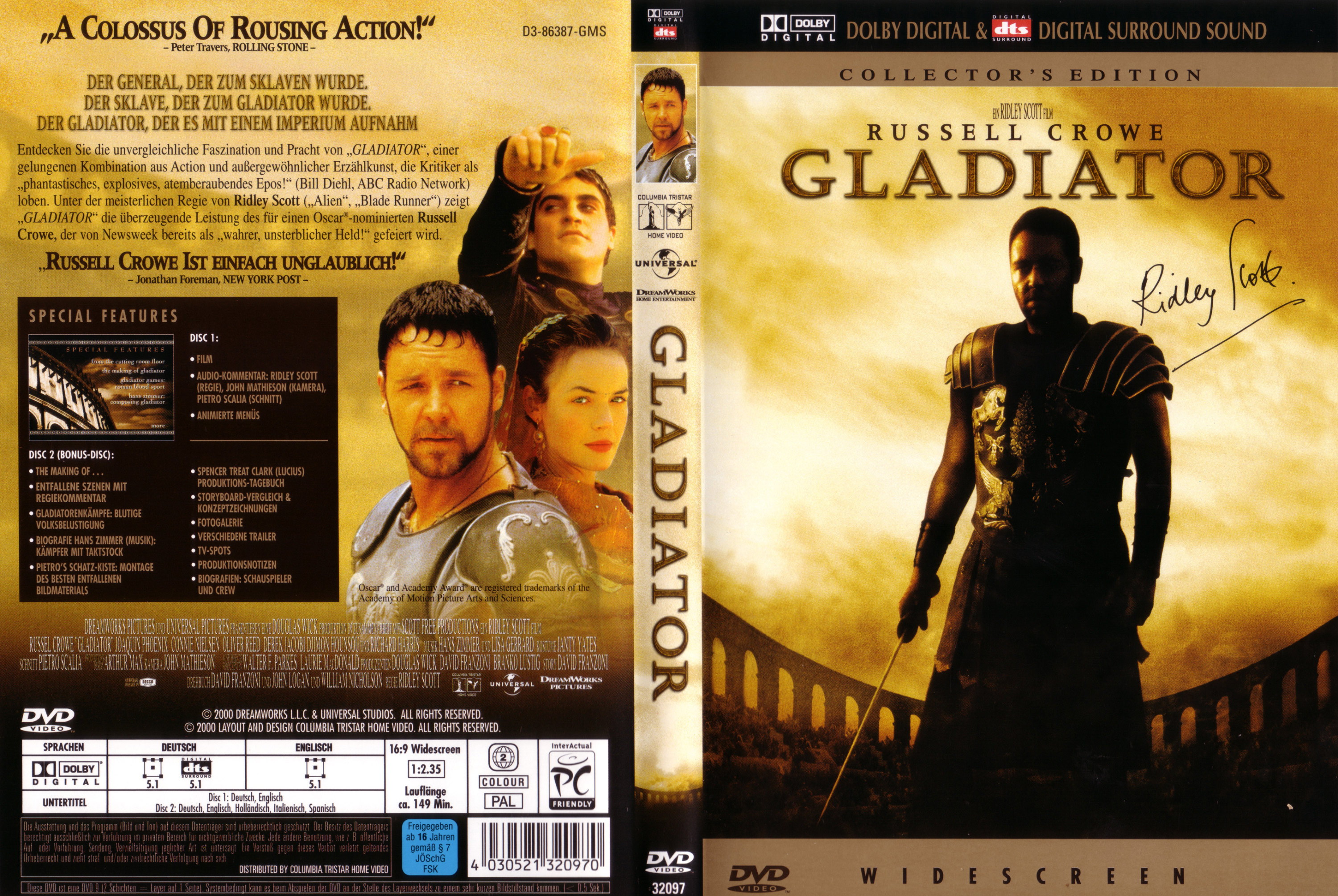 gladiator deutsch