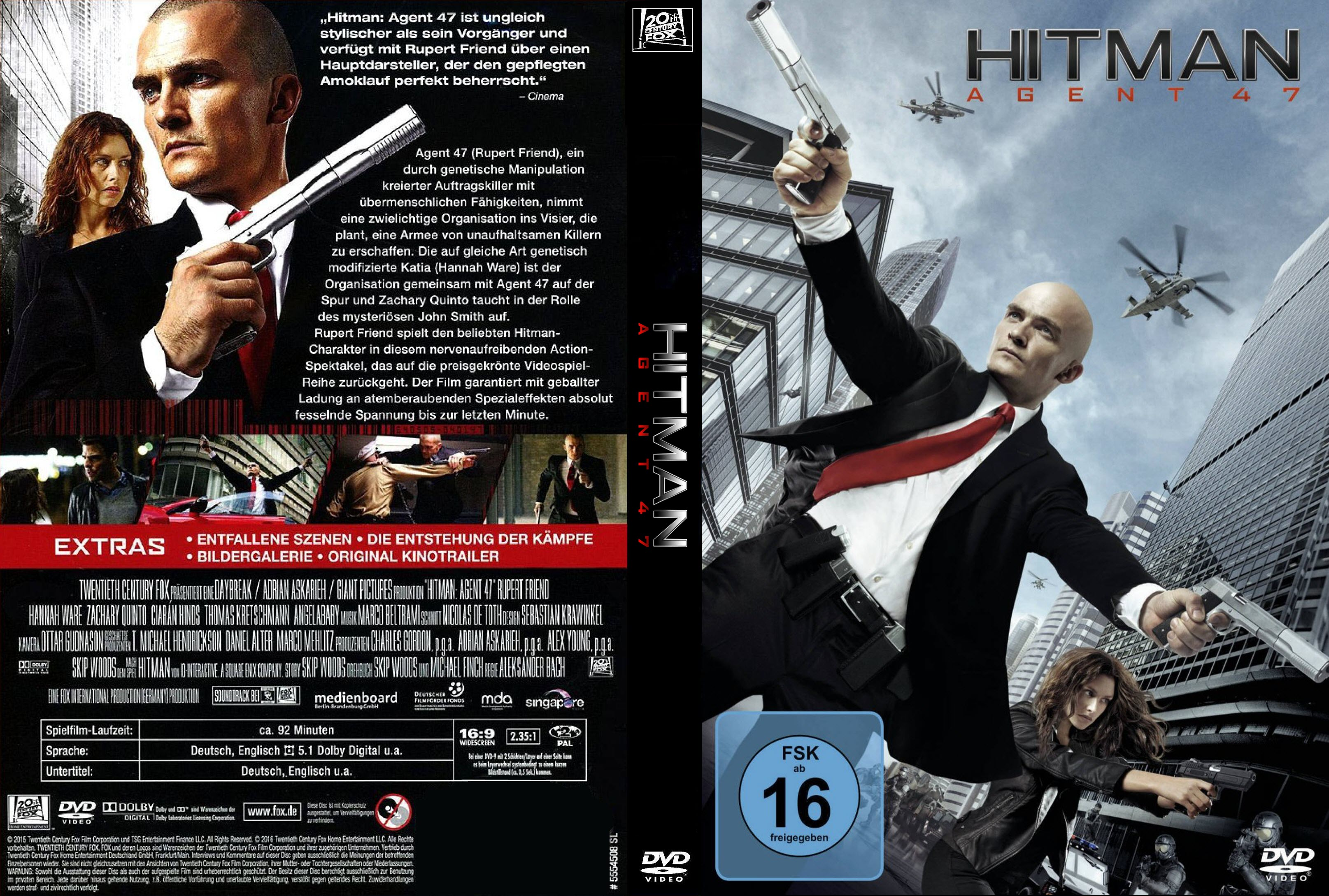 Hitman Agent 47 Hot Girl Hd Wallpaper