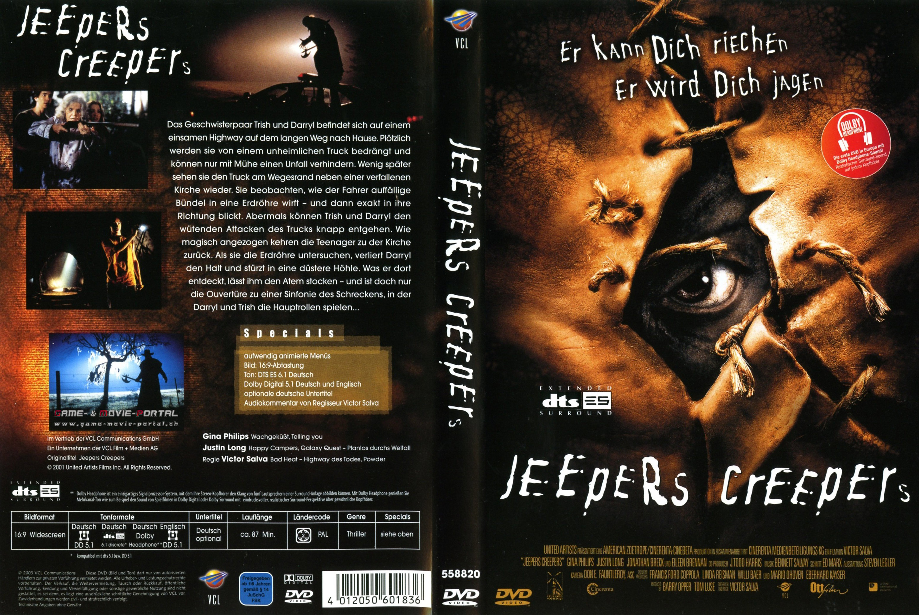 jeepers creepers deutsch