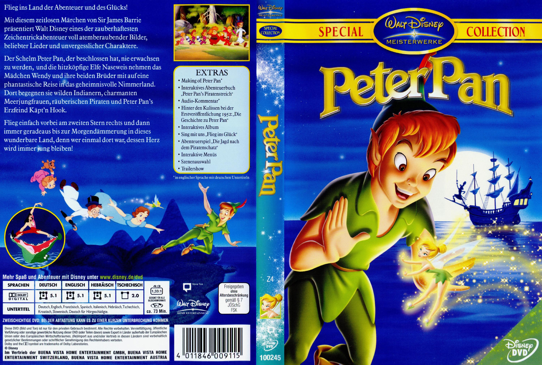 peter pan deutsch