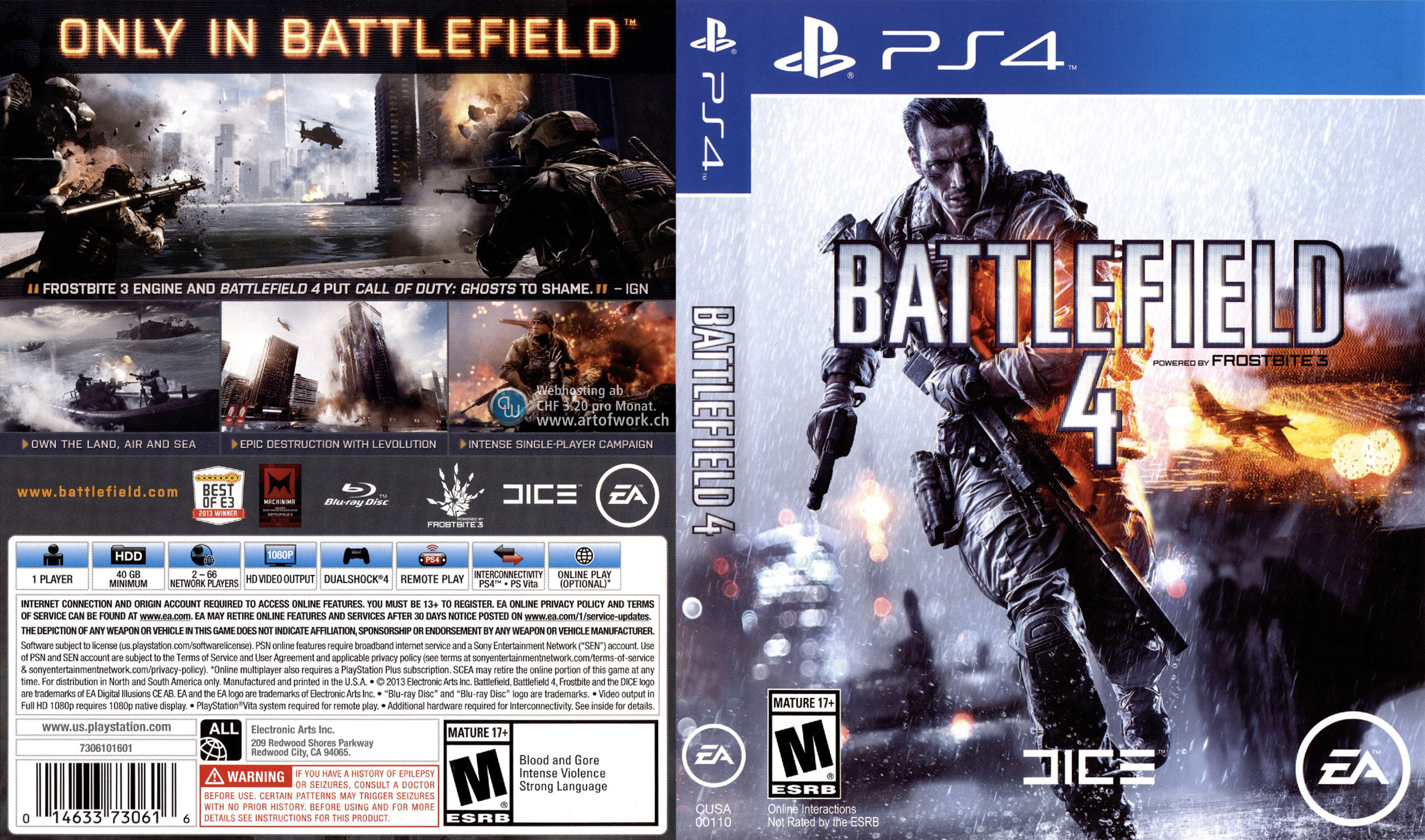 picture regarding Game Covers Printable identified as Playstation 4 Addresses - This is for the Gamers