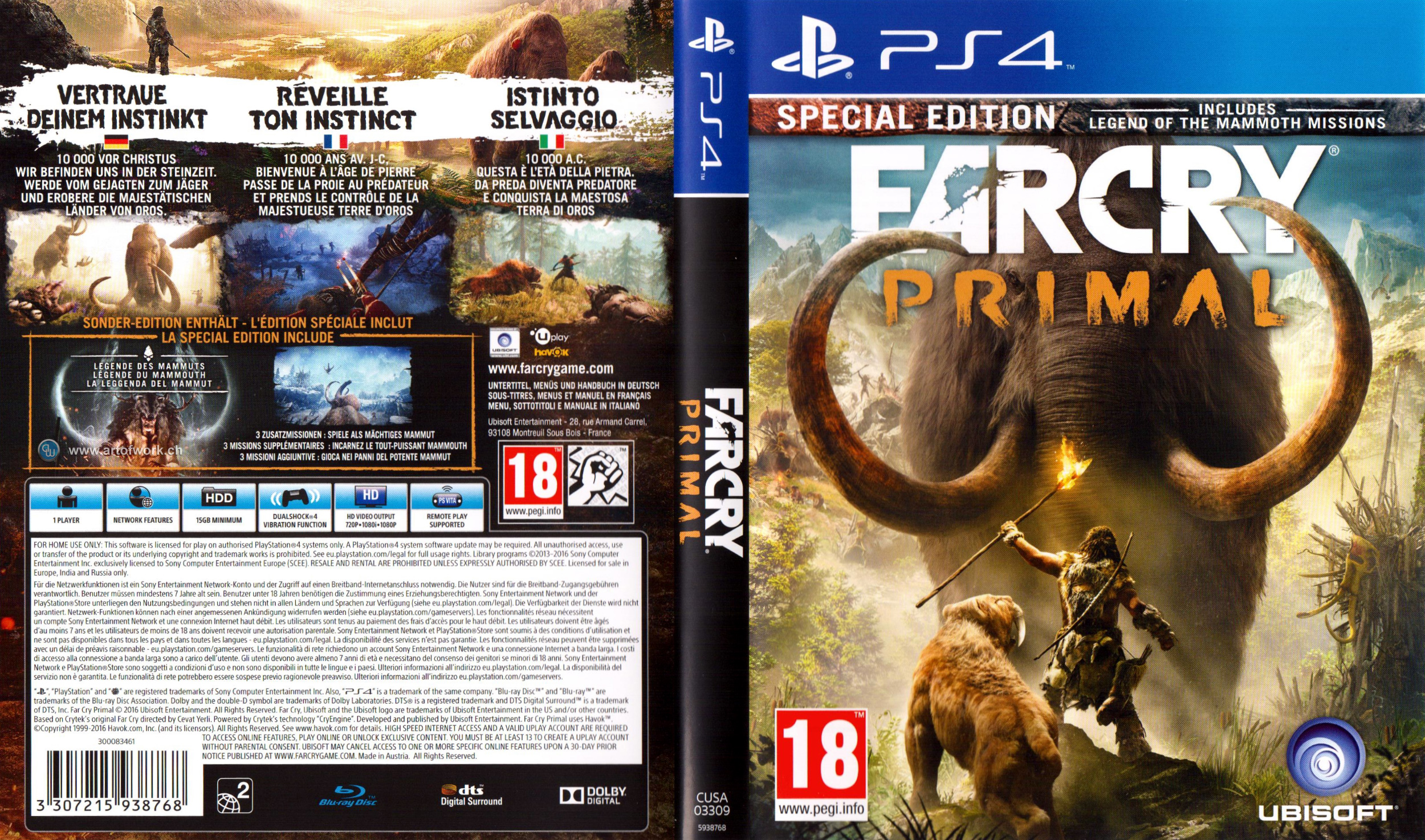 Playstation 4 Covers - This is for the Players
