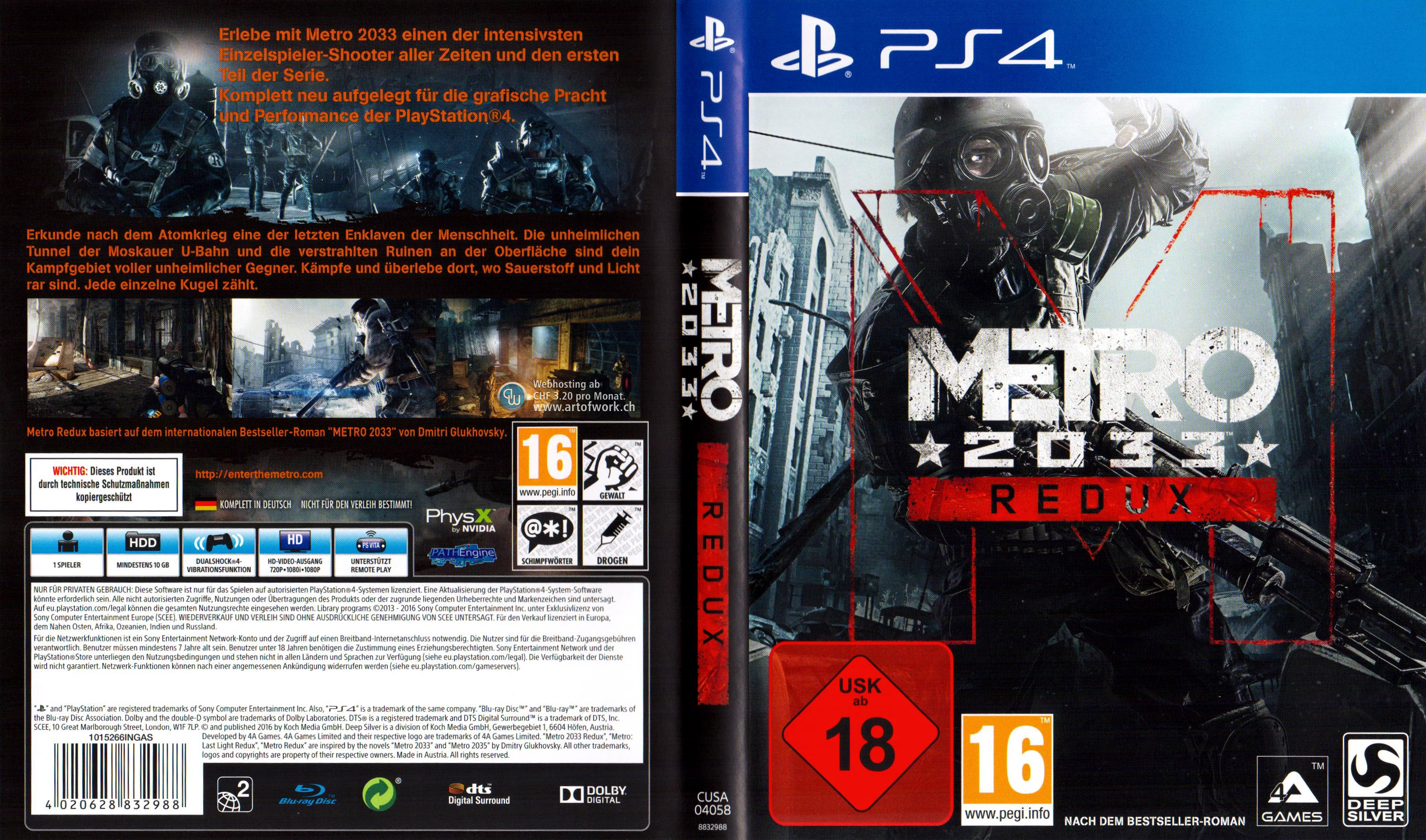 playstation 4 covers